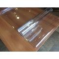 Şeffaf PVC 2,6 mm Kalın Masa Örtüsü Kaymaz Koruyucu