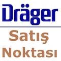 DRAGER ABEK1 GAZ MASKESİ +2Adet ABEK1 Filtresi +Gözlük YARIM YÜZ