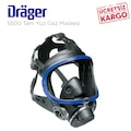 Drager X-plore 5500 Tam Yüz Gaz Maskesi