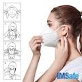 IMSAFE N95 FFP2   MASKE (10 ADET)