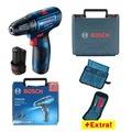 Bosch Professional GSR 120-LI 2x1,5Ah Çift Akülü + 23 Parça Set
