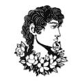 Florence Metal Tablo - APT024 - Siyah - 53x70 cm