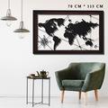 metal dünya harita,dekoratif metal tablo,dünya harita,duvar harit
