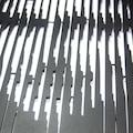 Monalisa 2 Metal Duvar Panosu - APT021 - Siyah - 60x95 cm