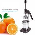 Ev Tipi Portakal Sıkacağı Kollu Narenciye Meyve Pres Makina