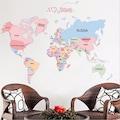 Dünya Haritası Ülkeler Atlası Siyasi Harita Ev ve Ofis Dekorasyon