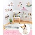 Fransız Bulldog Sevimli Köpekler Duvar Dekoru Ev Salon Veteriner