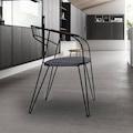 Özel Tasarım Metal Sandalye Sırt Minderi Hediyeli ve Özel Kumaş