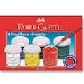 Faber Castell Guaj Boya 6lı