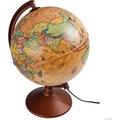 Gürbüz Işıklı Antik - Dünya Küresi 26 Cm 44261