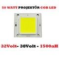 50Watt Projektör Power Smd Led Chip Beyaz Renk Yeni 32V-38V