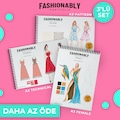 Fashionably Female/Pattern/Technical A3 3'lü Set