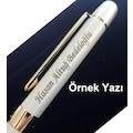 Kişiye Özel Scrikss Roller Kalem Beyaz Altın