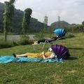 Katlanır Gölgelik Tente Kamp Havuz Plaj Şemsiyesi Çadır Güneşlik