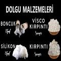 DOLGU MALZEMELERİ BONCUK SİLİKON ELYAF VİSCO SÜNGER KIRPINTI