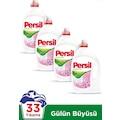 Persil Power Jel Gülün Büyüsü Sıvı Çamaşır Deterjanı 33 Yıkama 4 x 2310 ML