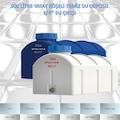 Mavi & Beyaz Renk 500 lt Su Deposu Polietilen Yatay Köşeli 3/4''