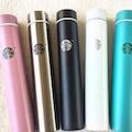 Starbucks Tasarım Şişe Çelik Termos Mug Kapaklı Kupa Su Matarası