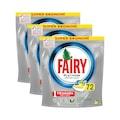 Fairy Platinum 216 Yıkama Limon Kokulu Bulaşık Makinesi Deterjanı