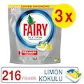 Fairy Platinum Bulaşık Makinesi Deterjanı Kapsülü 72x3 Yıkama
