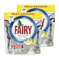 Fairy Platinum Bulaşık Makinesi Kapsülü Limon Kokulu 180 Yıkama