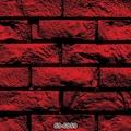 Tuğla Desenli Duvar Kağıdı Yanık Kırmızı 59 6059