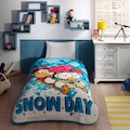 TAÇ SİZİNKİLER SNOW DAY TEK KİŞİLİK BATTANİYE