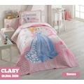 Clasy %100 Pamuk Yatak Örtüsü Genç Kız Çocuk Odası