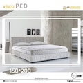 80*180 ORTOPEDİK VİSCO YATAK PEDİ