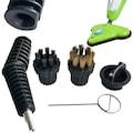 H2o Mop X5 Buharlı Temizleyici Yedek Aparatları Tel Fırça, Plasti