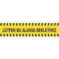 Sosyal Mesafeyi Koru Yer Etiketi - Sticker