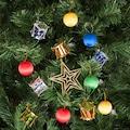 KBK Market Yılbaşı Çam Ağacı Rengarenk Toplu Süs Seti 13'lü