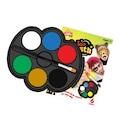 Amos Color Fiesta Yüz Boyası 6 Renk x 3 gr ANA RENKLER