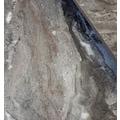 Mermer Görünümlü Zigon Sehpa - Kalın Ahşap Ayak