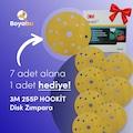 3M 255P+ Hookit Zımpara 7+1 HEDİYE TOPLAM 8 ADET ** KARGO BEDAVA