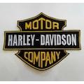 Harley Davidson Motorcu Patchi Yaması