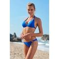 No Gossip Aksesuarlı Uzun Üçgen Bikini Tek Üst 209106 Sax