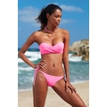 No Gossip Dolgulu Straplez Bikini Tek Üst 209103 Neon Pembe
