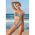 No Gossip Kalın Kenar Bikini Tek Alt 209207-D Butterfly