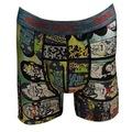 Renkman Desenli Licralı Erkek Boxer 6lı - Asorti Desenler