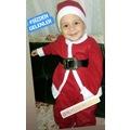 0-6yaş Noel Baba Kostüm, Yılbaşı Kostüm Yeniyıl bebek çocuk giyim