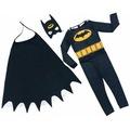 Batman Çocuk Kostümü - Maskeli Pelerinli Batman Kostümü Betmen