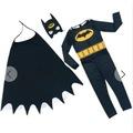 Maskeli Pelerinli Batman Kostümü BATMAN ÇOCUK KOSTÜM Betmen