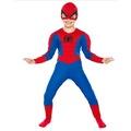 Spiderman Çocuk Kostüm KALİTELİ ÖRÜMCEK ADAM KOSTÜMÜ TÜM YAŞLAR