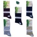 12 Çift Bambu Dikişsiz Erkek Çorap - İnce Yazlık - %90 Bambu