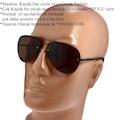 Bigotti Milano Polarize Erkek Güneş Gözlüğü Çerçevesiz Damla Mode