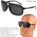 Daniel Klein Erkek Güneş Gözlüğü Polarize Lensli Siyah Kahverengi