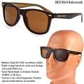 Daniel Klein Polarize Erkek Güneş Gözlüğü Wayfarer Model Kare Tas