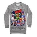 Kışlık Çocuk Sweatshirt, Brawl stars sweatshirt