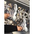 Ottimo 4127 Gri Süet Kadın Sneakers